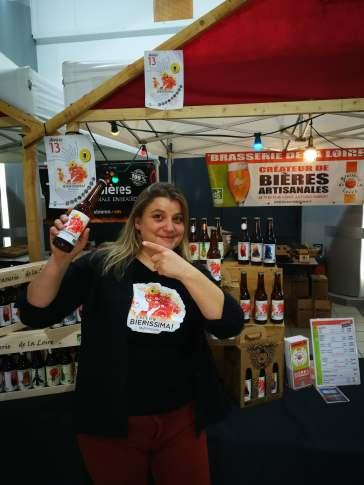 Anne Laure Brasseuse de la Brasserie de la Loire